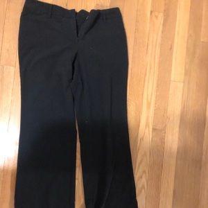 Wide legged black pants
